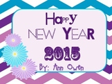 Happy New Year 2015 Flip Book
