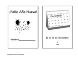 Happy New Year 2014 Mini-Book in Spanish ~ ¡Feliz Año Nuevo!