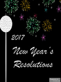 Happy New Year 2017 Resolution Writing