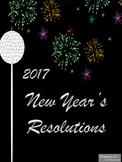 Happy New Year 2017 Resolution Writing