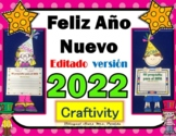Ano Nuevo 2018 propositos The New Year 2018 - Año Craftivity  Mrs. Partida