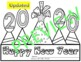 The  New Year 2017 - Craftivity Printables Resolutions boo