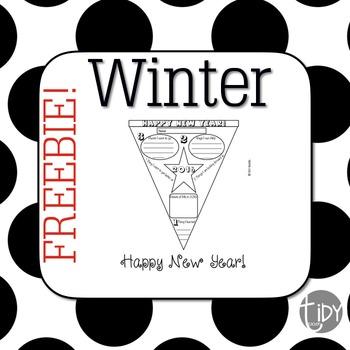 Happy New Year 2016 FREE Printable!