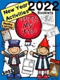 Happy New Year 2019 Activities {Booklets, Writing, Craft, Color by Number}