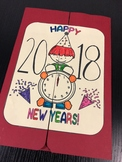 Lapbook Happy New Year 2018