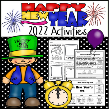 Happy New Year 2018 Activity Packet