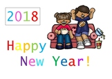 Happy New Year 2018 Freebie