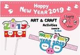 Happy New Year 2019 Activities ( Happy Piggy Year 2019) Art Craft Activities