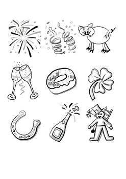 Happy New Year 2019 Word Search And Coloring Page By Steven S Social