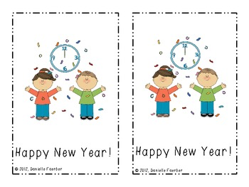 Happy New Year: A Differentiated Emergent Reader with Writing Extension