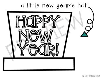 Happy New Year: A Little Hat