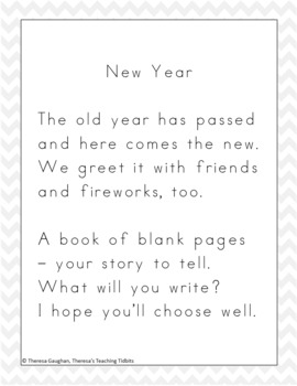 Happy New Year Fun Literacy Activities to Welcome the New Year