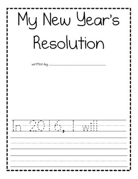 Happy New Year Activities for 2016