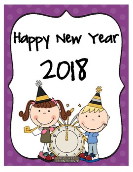Happy New Year Activities - UPDATED for 2018!