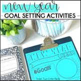 New Years 2019 Activities: New Years Resolutions, Activities, Goal Writing 2019