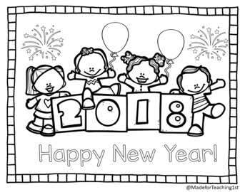 Happy New Year! - Activities