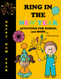 Happy New Year Activities for School and Home Parties