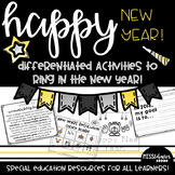 Happy New Year Activities for Special Education