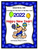 Happy New Year! Activities to set goals all year long!