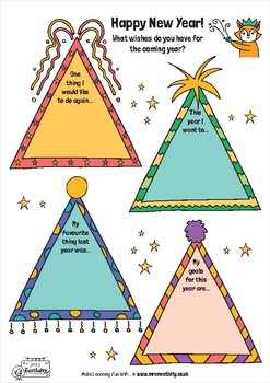 Happy New Year Activity Sheet