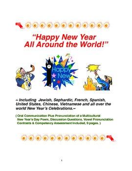 """Happy New Year All Around the World!"""