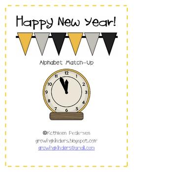 Happy New Year! Alphabet Match