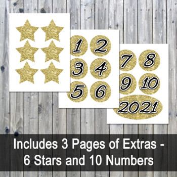 Happy New Year Banner 2018 - Printable