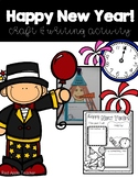 Happy New Year!!-- Craft & Writing Activity for your K-2 Class