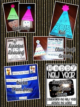 Happy New Year {Craftivities, ELA & Math Centers  and Printables Too!}