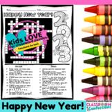 Happy New Year Crossword Puzzle