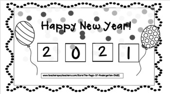 Happy New Year Cut & Paste