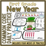 New Years 2020 Math Common Core Daily Practice