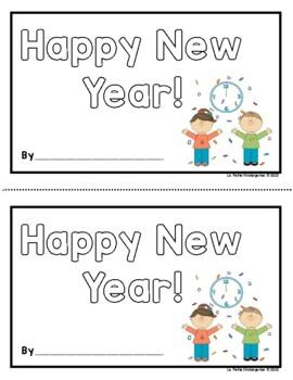 Happy New Year (Emergent Reader)