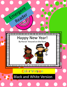 Happy New Year - Emergent Reader