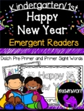 Happy New Year Emergent Reader for Kindergarten