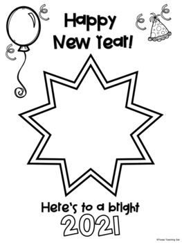 Happy New Year! FREEBIE New Year Writing