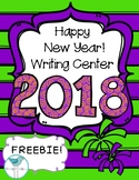 Happy New Year 2018! Writing Freebie