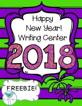 Happy New Year 2017! Writing Freebie