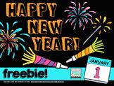 Happy New Year Freebie