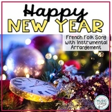 Happy New Year - French Folk Song with Orff Accompaniment