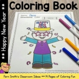 New Years Coloring Pages  - 14 Pages of New Years Coloring Fun