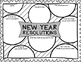 Happy New Year! 2019! Graphic Organizers: Busy Work / Cut & Glue (9 Activities)