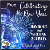 Happy New Year Handout and Writing Activity FREEBIE