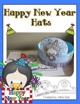 Happy New Year Hat (Headband)