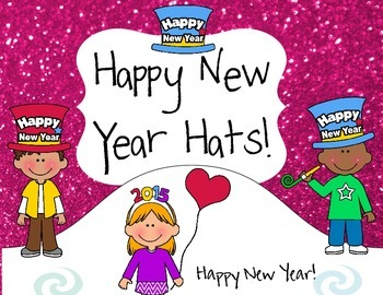 Happy New Year Hat Set