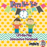 Happy New Year Lift-the-Flap Interactive Notebook