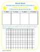 Happy New Year:  Making Words and Word Search Extension Activity