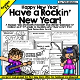 #ringin2018 Happy New Year!  Math & Literacy Activity Pages Workbook
