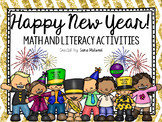 Happy New Year! Math and Literacy Activities