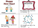 Happy New Year! Mini Book/Coloring Page/Resolution Page